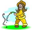 pompier-fille