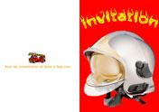 invitation pompier
